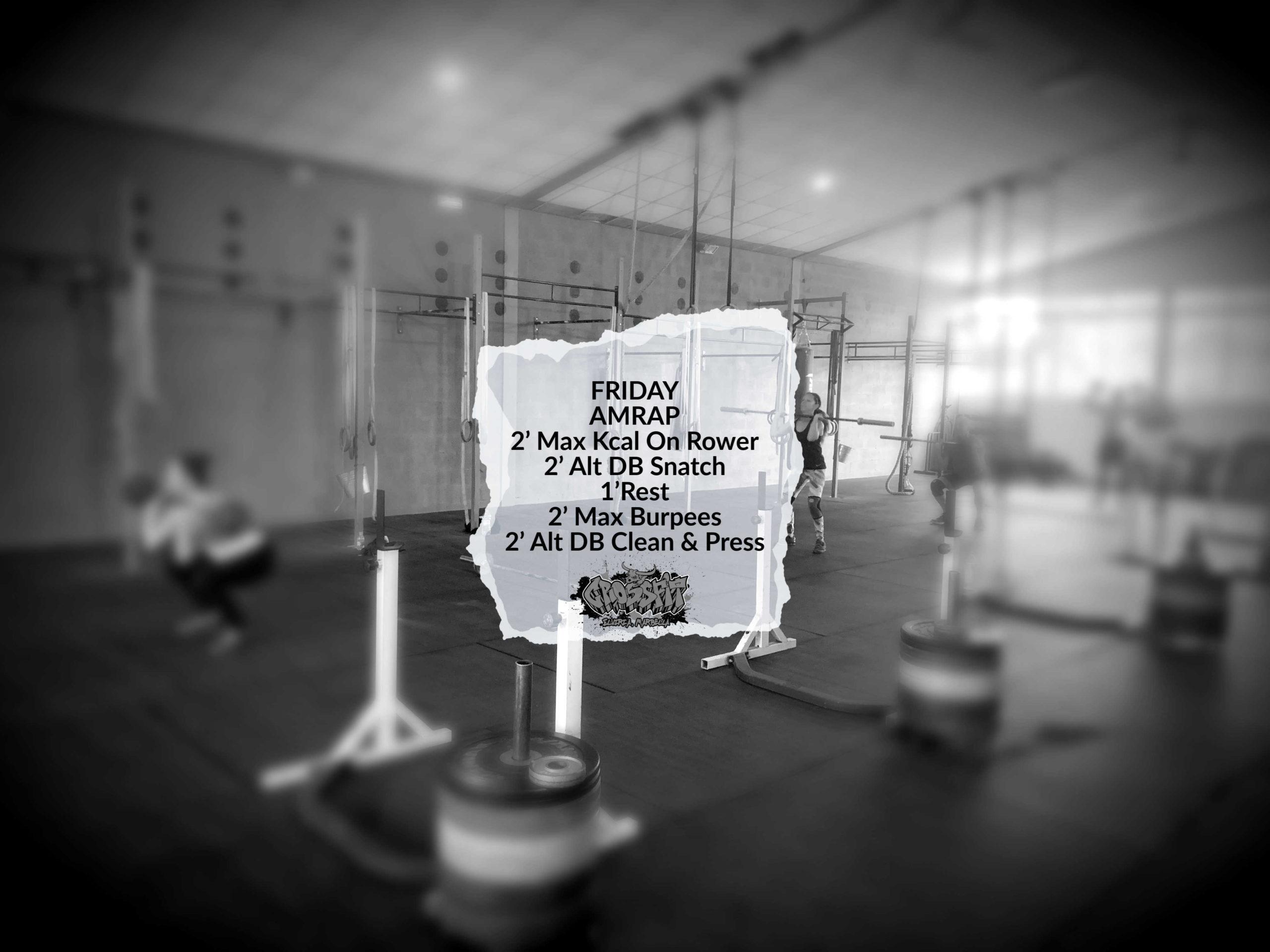 CrossFit Elviria WOD Friday 2