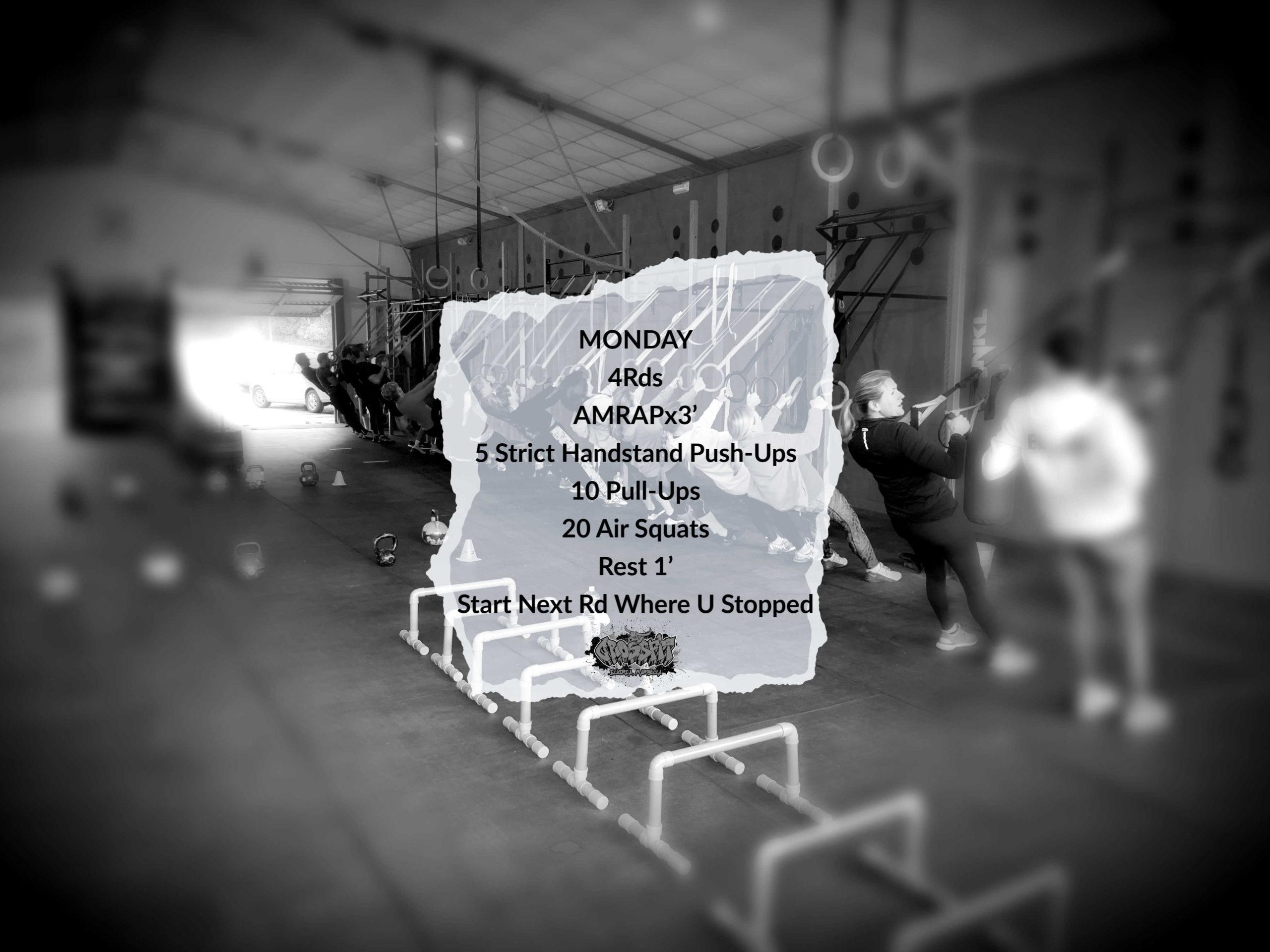 CrossFit Elviria Monday WOD