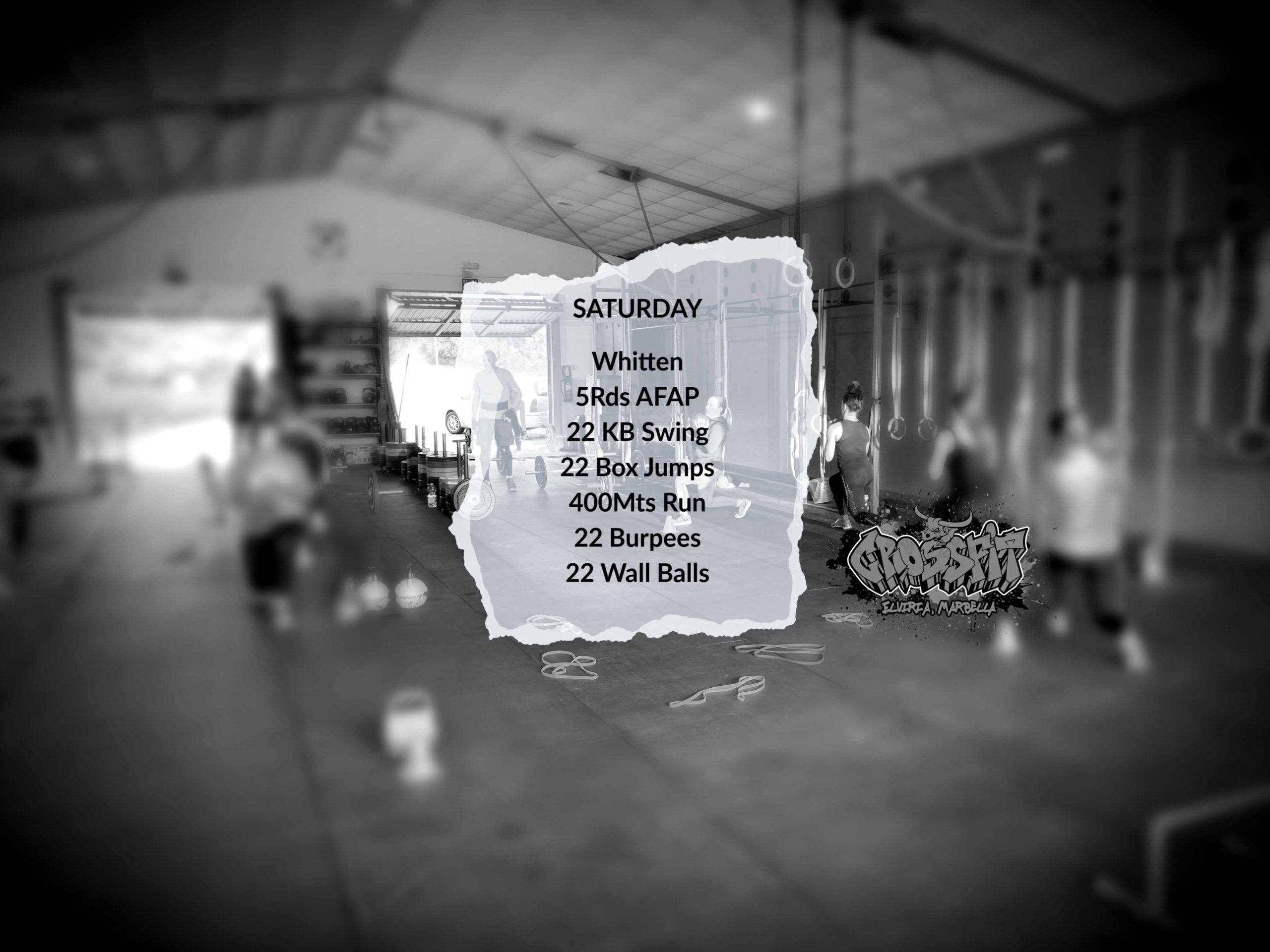 Saturday Morning WOD CrossFit Elviria